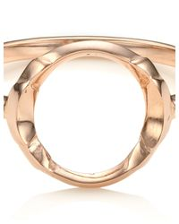 Maria Black | Pink Rose Gold Taylor Ring | Lyst