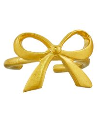 Dogeared - Metallic Cuff Love Bow Ear Cuff - Lyst
