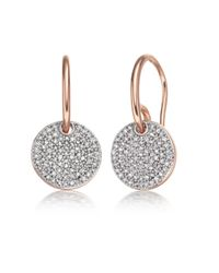 Monica Vinader | Metallic Ava Disc Drop Earrings | Lyst
