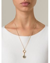 Bjorg | Metallic Mirror At Midnight Necklace | Lyst