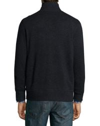 Neiman Marcus - Gray Reversible Full-zip Cashmere Jacket for Men - Lyst