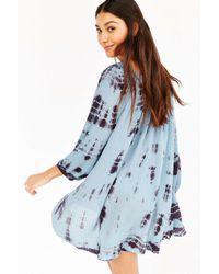 Kimchi Blue - Blue Luna Gathered Dress - Lyst