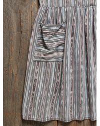 Free People - Multicolor Vintage Woven Baja Dress - Lyst