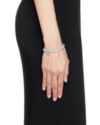Philippe Audibert - Metallic 'greene' Crystal Bead Elastic Bracelet - Lyst