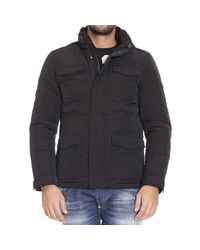 Woolrich | Black Down Jacket for Men | Lyst