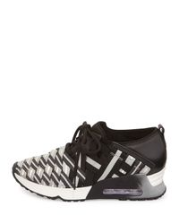 Ash - Gray Lunatic Woven Lace-up Sneaker - Lyst