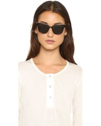 Tory Burch | Modern Sunglasses - Black/green | Lyst