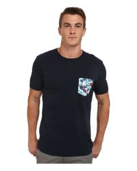 Rip Curl | Blue Pinto Custom Tee for Men | Lyst