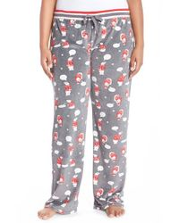 Pj Salvage | Multicolor Thermal Knit Lounge Pants | Lyst