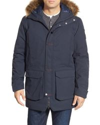 Helly Hansen | Blue 'norse' Waterproof Parka With Removable Faux-fur Trim for Men | Lyst