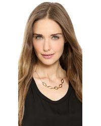 Gorjana - Metallic Roya Collar Necklace Gold - Lyst