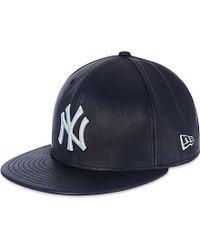 7c732dc1e7b KTZ New York Yankies Leather Cap - For Men