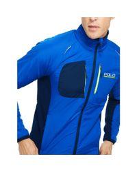 Ralph Lauren | Blue Hybrid Tech Jacket for Men | Lyst