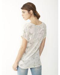 Alternative Apparel - Metallic Overnight Dreamer Eco-Jersey T-Shirt - Lyst