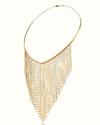 Lana Jewelry | Metallic 14k Gold Fringe Choker Necklace | Lyst