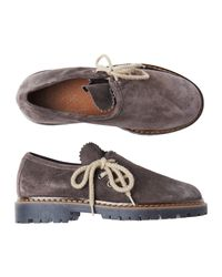 Toast | Gray Tirol Suede Shoe | Lyst