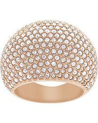 Swarovski | Metallic Stone Ring | Lyst