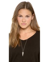 House of Harlow 1960 - Metallic Sparkling Periphery Necklace - Lyst