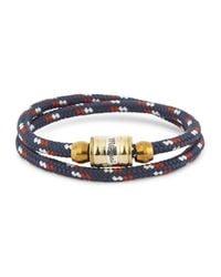 Miansai | Blue Navy Double Wrap Rope Bracelet for Men | Lyst