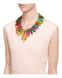 Tory Burch - Multicolor Aidan Statement Necklace - Lyst