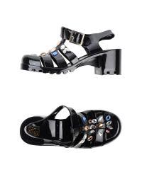 Colors Of California - Black Sandals - Lyst