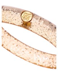 Ted Baker - Metallic Ryleey Resin Button Bangle - Lyst