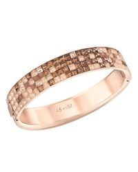Swarovski - Pink Viktor and Rolf Frozen Crystals Bangle - Lyst
