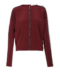 Dorothee Schumacher - Red Trim Detailing Blouse - Lyst
