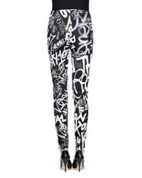 Moschino | Black Casual Pants | Lyst