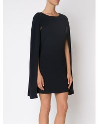 Co. - Black Short Cape Dress - Lyst