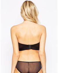 Ultimo - Black Dd-f Fuller Bust Low Back Strapless Longline Bra - Lyst