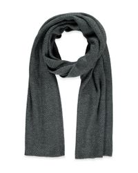 Forever 21 | Gray Oblong Knit Scarf | Lyst