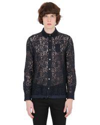 N°21 - Black No21 Lace Shirt for Men - Lyst