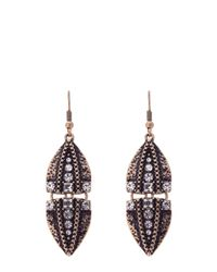 Oasis | Metallic Arrow Drop Earrings | Lyst