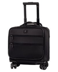 Victorinox | Black Victorinox Swiss Army 'lexicon' Dual Caster Wheeled Boarding Tote for Men | Lyst