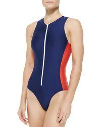 Splendid - Multicolor Soft Cup One-piece Swimsuit - Lyst