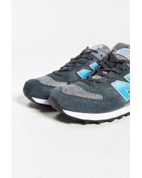 New Balance - Blue 574 Sweatshirt Running Sneaker for Men - Lyst