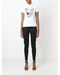 DSquared² - Black Slim Trousers - Lyst