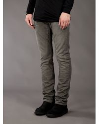 DRKSHDW by Rick Owens - Gray Alt Detroit Straight-leg Jean for Men - Lyst