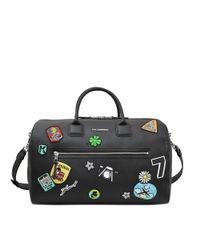 Karl Lagerfeld | Multicolor Karl Around The World Weekender | Lyst