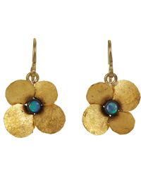 Judy Geib | Metallic Opal Hydrangea Earrings | Lyst