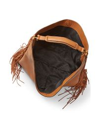 Rebecca Minkoff | Brown Heavy Laced Oversized Hobo | Lyst