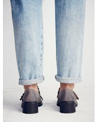 Free People - Gray Riders Kilty Brogue - Lyst