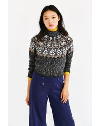 Kimchi Blue | Gray Up North Sweater | Lyst