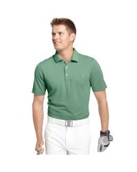 Izod | Green Big and Tall Solid Pique Performance Golf Polo for Men | Lyst