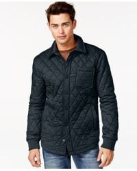American Rag - Blue Shelly Quilted Jacket for Men - Lyst