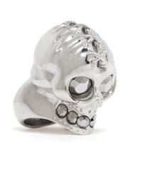 Alexander McQueen - Metallic 'sado Maso' Ring for Men - Lyst
