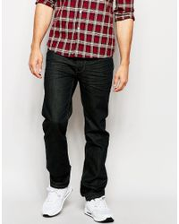 French Connection | Black James Slim Fit Chinos for Men | Lyst