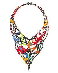 Tom Binns - Blue Au Fait Necklace - Lyst