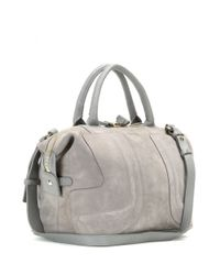 See By Chloé - Gray Kay Suede Tote - Lyst